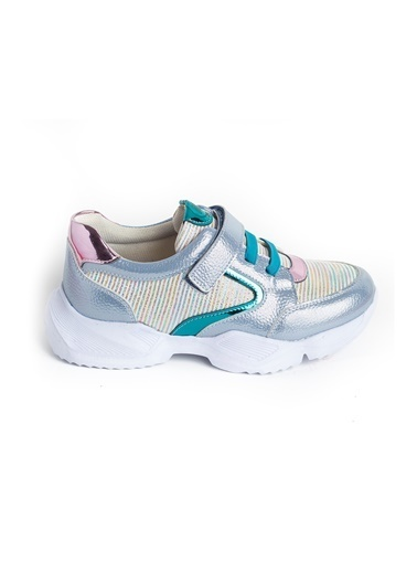 minipicco Kız Cocuk Ortopedik Destekli Çocuk Spor Ayakkabı Mavi
